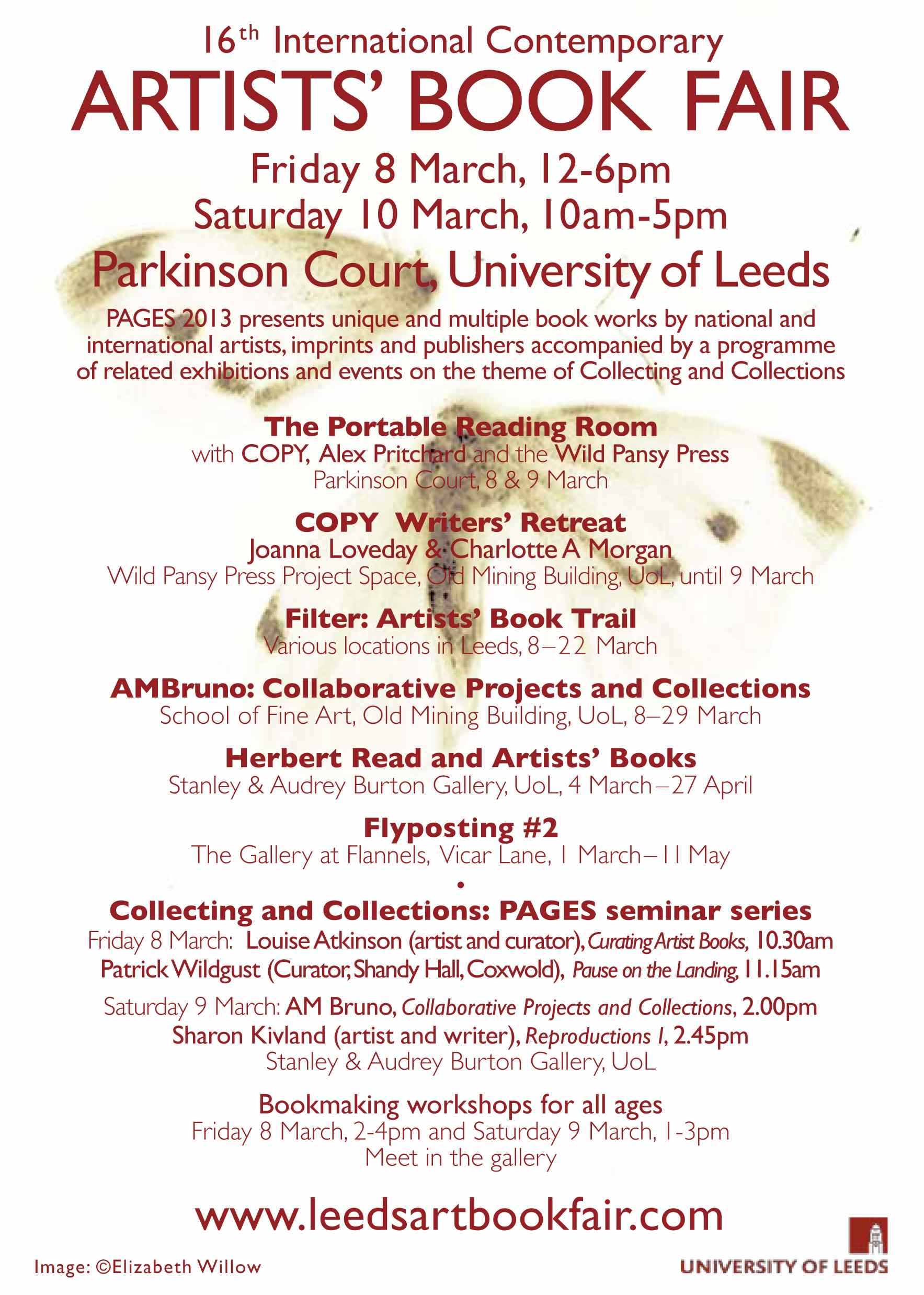 Leeds Art Book Fair 2013
