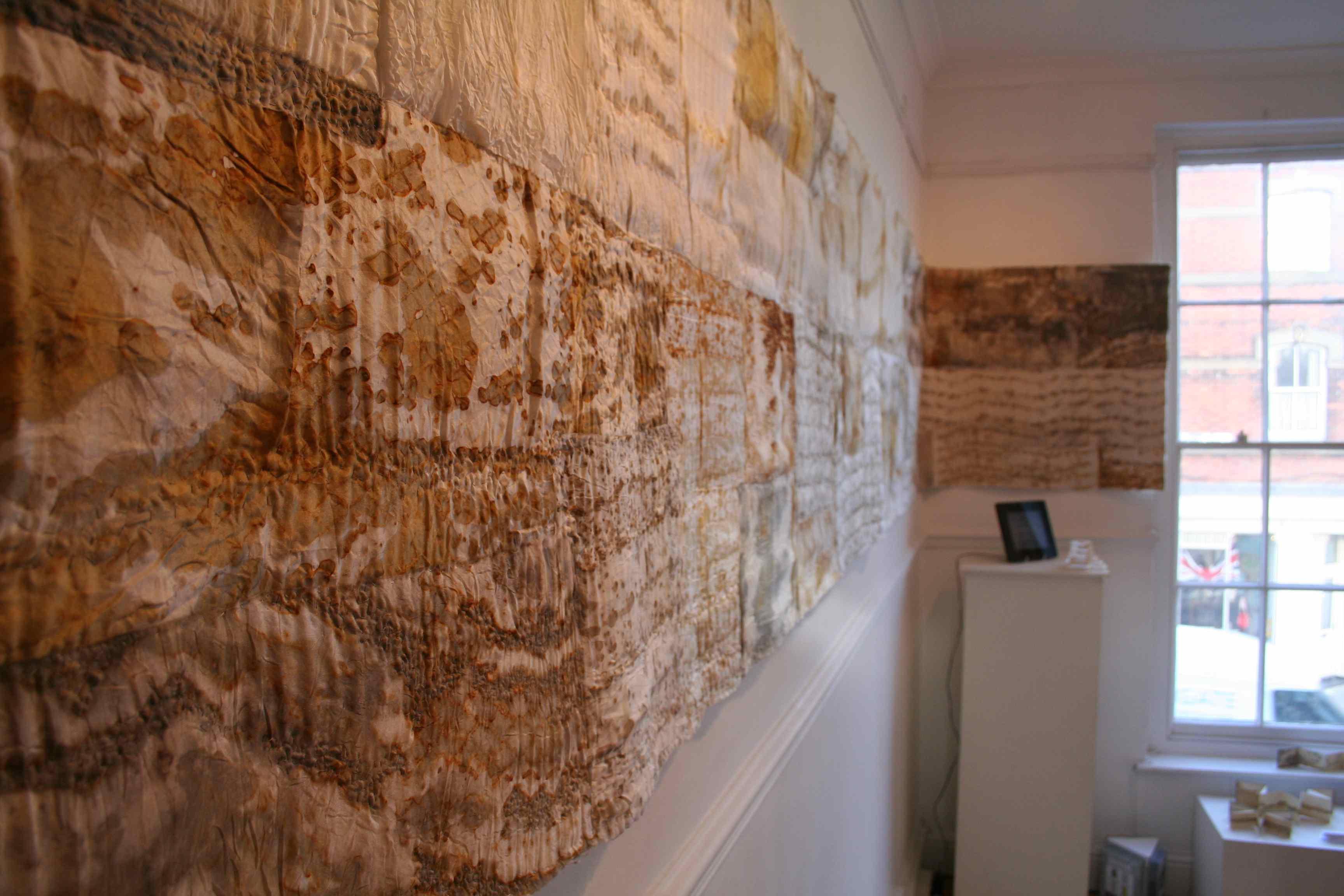 Alice Fox Spurn Cloth #1 at Gallery 49 exhibition