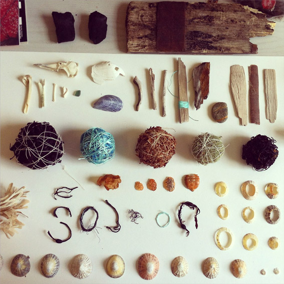 Alice Fox collected objects