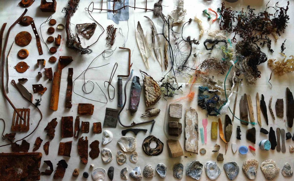 Alice Fox Eastbourne beachcombing