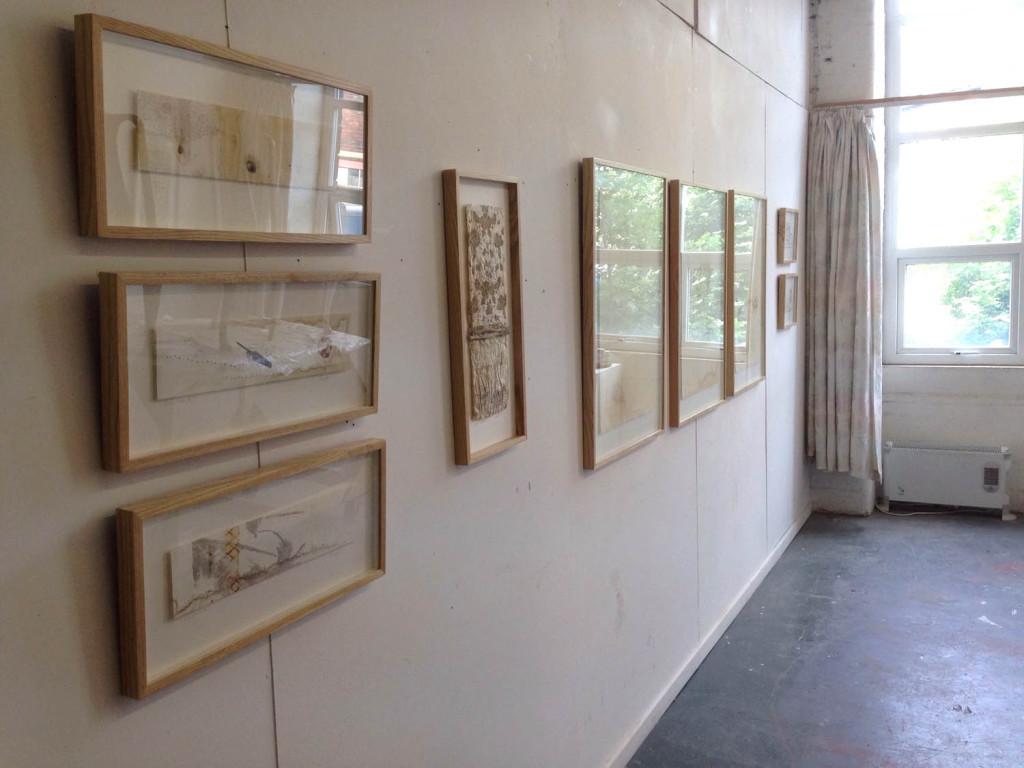 Alice Fox Open studio