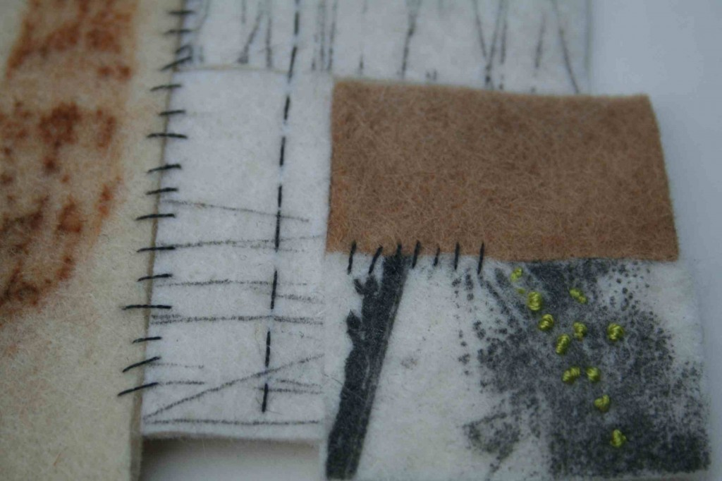 Alice Fox Printed Fragments detail