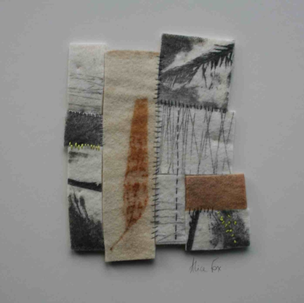 Alice Fox printed fragments #1