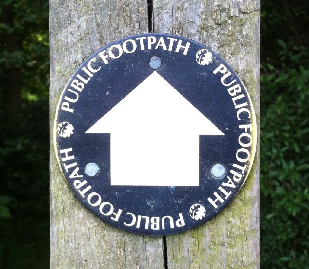 Alice Fox public footpath