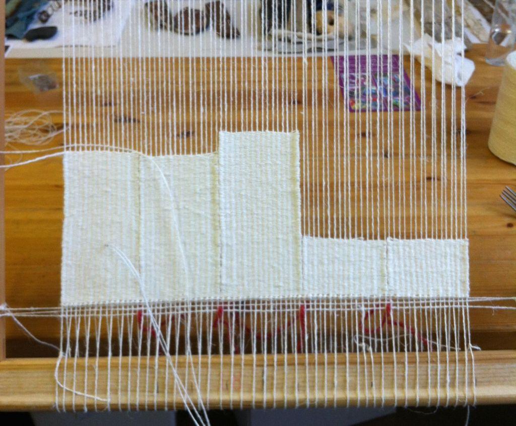 Alice Fox tapestry weave frame