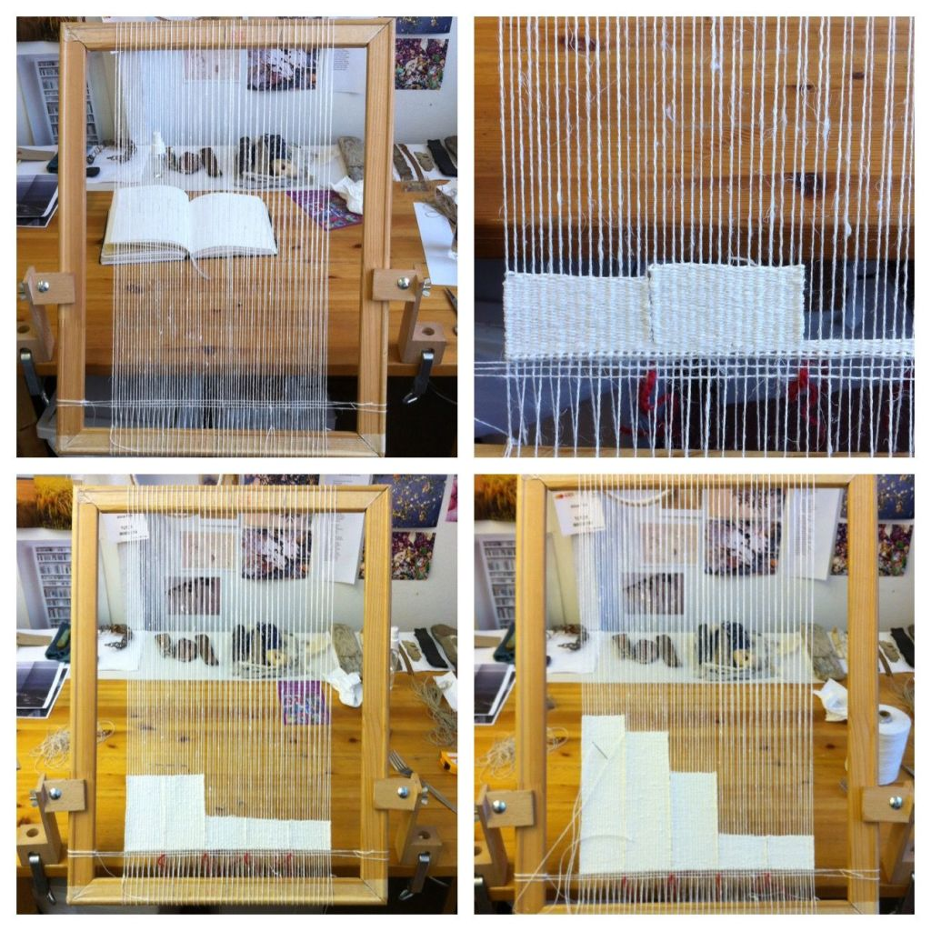 Alice Fox weaving development 1