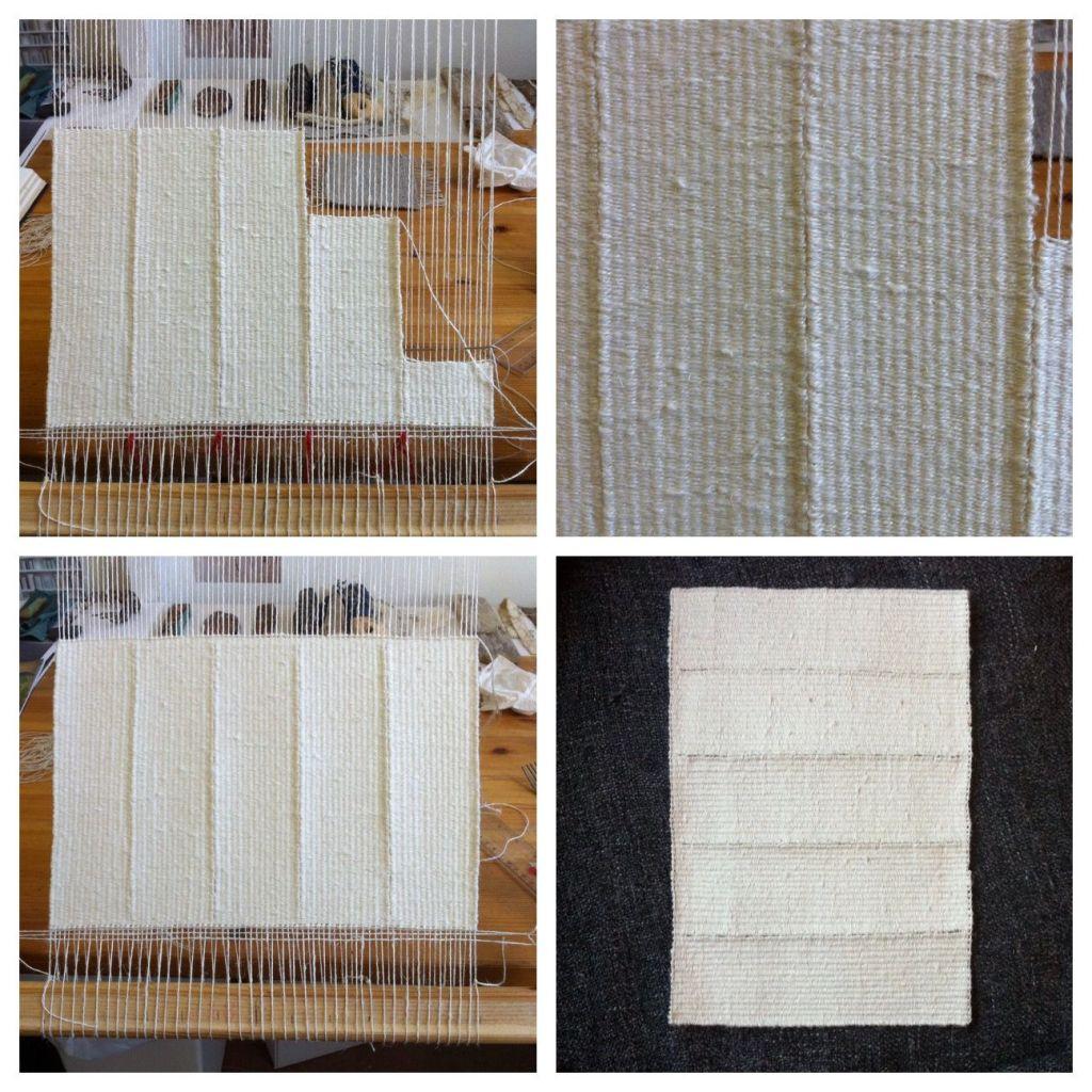Alice Fox weaving development 2