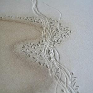 Alice Fox Sand Streams #3 detail